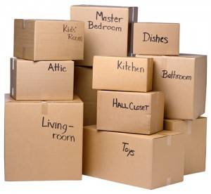 removal companies boxes